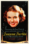 "Movie Posters:Comedy, Three Smart Girls (Universal, 1936). One Sheet (27"" X 41"").. ..."