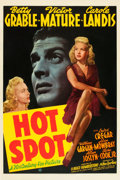 "Movie Posters:Film Noir, Hot Spot (20th Century Fox, 1941). One Sheet (27"" X 41"").. ..."