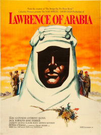 "Lawrence of Arabia (Columbia, 1962). Advance Double-Sided One Sheet (29.75"" X 40"")"