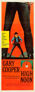"Movie Posters:Western, High Noon (United Artists, 1952). Insert (14"" X 36"").. ..."