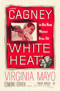 "Movie Posters:Film Noir, White Heat (Warner Brothers, 1949). One Sheet (27"" X 41""). Fromthe Leonard and Alice Maltin Collection.. ..."