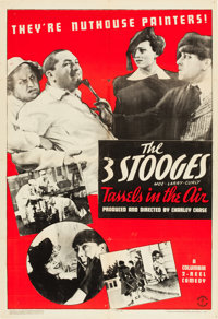 "Tassels in the Air (Columbia, 1938). One Sheet (27"" X 41""). From the Leonard and Alice Maltin Collection"