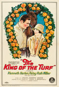 """Movie Posters:Drama, The King of the Turf (FBO, 1926). One Sheet (27"""" X 41"""") Style A.. ..."""