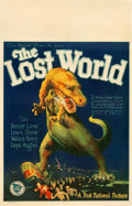 "Movie Posters:Science Fiction, The Lost World (First National, 1925). Window Card (14"" X 22"").. ..."