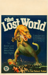 "The Lost World (First National, 1925). Window Card (14"" X 22"")"
