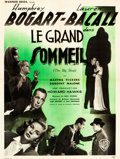"Movie Posters:Film Noir, The Big Sleep (Warner Brothers, 1946). French Affiche (23.5"" X 31.5"").. ..."