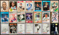 Autographs:Sports Cards, Baseball Greats Signed Cards Lot Of 40+...