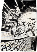 Original Comic Art:Covers, John Buscema Daredevil #137 Cover Original Art (Marvel,1976).... (Total: 2 Original Art)
