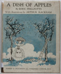 Books:Literature 1900-up, Arthur Rackham [illustrator]. Eden Phillpotts. A Dish ofApples. Hodder & Stoughton, [n. d.]. First trade editio...