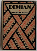 Books:Literature 1900-up, Hermann Hesse. Demian. Boni and Liveright, 1923. FirstAmerican edition, first printing. Minor rubbing and bumping t...