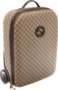 Luxury Accessories:Travel/Trunks, Gucci Classic Monogram Canvas Rolling Suitcase. ...