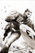 Original Comic Art:Covers, Jackson Guice Captain America: The First Avenger (Military Edition) Cover Original Art (Marvel, 2011)....