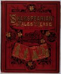 Books:Literature Pre-1900, R. Andre [illustrator]. Mrs. Valentine. Shakespearian Tales inVerse. Armstrong, [n. d.]. Minor rubbing to boards wi...