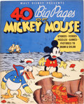 Platinum Age (1897-1937):Miscellaneous, 40 Big Pages of Mickey Mouse #945 (Whitman Publishing Co., 1936)Condition: VF/NM....