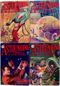 Pulps:Science Fiction, Astounding Stories Group (Street & Smith, 1930) Condition:Average FN-.... (Total: 9 Items)