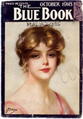 Pulps:Adventure, Blue Book - October '18 (McCall, 1918) Condition: VG-....