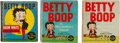 Big Little Book:Miscellaneous, Big Little Book - Betty Boop Group (Whitman, 1934-35) Condition:Average VG.... (Total: 3 Items)