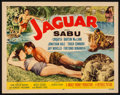 "Movie Posters:Adventure, Jaguar (Republic, 1955). Half Sheet (22"" X 28""). Adventure.. ..."