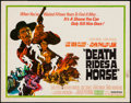 "Movie Posters:Western, Death Rides a Horse & Other Lot (United Artists, 1968). HalfSheets (2) (22"" X 28""). Western.. ..."