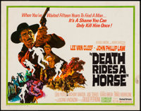 """Death Rides a Horse & Other Lot (United Artists, 1968). Half Sheets (2) (22"""" X 28""""). Western"""
