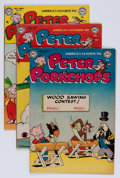 Golden Age (1938-1955):Funny Animal, Peter Porkchops Group (DC, 1953-60) Condition: Average VG....(Total: 34 Comic Books)