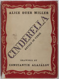 Books:Children's Books, Constantin Alajalov [illustrator]. Alice Duer Miller.Cinderella. Coward-McCann, 1943. Some rubbing and bumping...