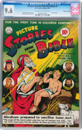 Golden Age (1938-1955):Religious, Picture Stories from the Bible #3 Gaines File pedigree (DC, 1943) CGC NM+ 9.6 Off-white to white pages....