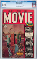 Golden Age (1938-1955):Romance, Movie Love #21 (Famous Funnies, 1953) CGC VF 8.0 Cream to off-whitepages....