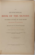 Books:Americana & American History, [Declaration of Independence]. W. Brotherhead. The CentennialBook of Signers. Brotherhead, 1872. First edition, fir...