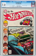 Bronze Age (1970-1979):Miscellaneous, Hot Wheels #1 (DC, 1970) CGC FN/VF 7.0 Off-white pages....