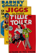 Golden Age (1938-1955):Cartoon Character, Four Color #15 and 18-21 Group (Dell, 1941).... (Total: 5 Comic Books)