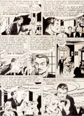 "Original Comic Art:Panel Pages, Joe Orlando Tales from the Crypt #28 ""Ants in Her Trance""Page 2 Original Art (EC, 1952)...."