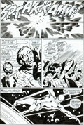 Original Comic Art:Panel Pages, John Buscema and Sal Buscema Silver Surfer #7 page 32Original Art (Marvel, 1969)....