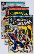Modern Age (1980-Present):Superhero, The Amazing Spider-Man Box Lot (Marvel, 1974-85) Condition: AverageVF/NM....