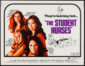"Movie Posters:Sexploitation, The Student Nurses & Other Lot (New World, 1970). Half Sheets(2) (22"" X 28""). Sexploitation.. ... (Total: 2 Items)"