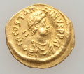 Ancients:Ancient Lots  , Ancients: BYZANTINE. Tiberius II- Maurice Tiberius. AV solidus andtremissis. ... (Total: 2 coins)