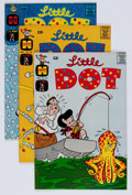 Silver Age (1956-1969):Humor, Little Dot #105-164 File Copy Short Box Group (Harvey, 1966-76) Condition: Average NM-....
