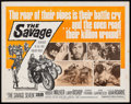 "Movie Posters:Exploitation, The Savage Seven (American International, 1968). Half Sheet (22"" X 28""). Exploitation.. ..."