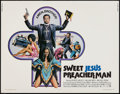 "Movie Posters:Blaxploitation, Sweet Jesus Preacher Man (MGM, 1973). Half Sheet (22"" X 28"").Blaxploitation.. ..."