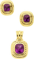 Estate Jewelry:Suites, Amethyst, Gold Jewelry Suite, David Yurman. ...
