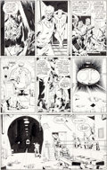 Original Comic Art:Panel Pages, Dave Gibbons Watchmen #8 Rorschach and Nite Owl Page 24Original Art (DC, 1987)....