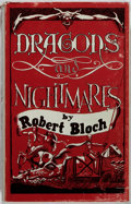 Books:Horror & Supernatural, Robert Bloch. LIMITED. Dragons and Nightmares. Mirage, 1968. First edition, first printing. Limited to 1000 number...