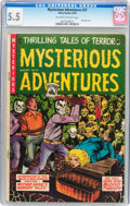 Golden Age (1938-1955):Horror, Mysterious Adventures #21 (Story Comics, 1954) CGC FN- 5.5Off-white to white pages....