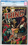 Golden Age (1938-1955):Horror, The Thing! #11 (Charlton, 1953) CGC FN+ 6.5 White pages....