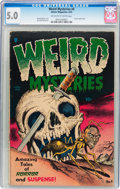 Golden Age (1938-1955):Horror, Weird Mysteries #4 (Gillmor, 1953) CGC VG/FN 5.0 Off-white to whitepages....