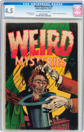 Golden Age (1938-1955):Horror, Weird Mysteries #6 (Gillmor, 1953) CGC VG+ 4.5 Off-white to whitepages....