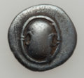 Ancients:Ancient Lots  , Ancients: BOEOTIA. Thebes. Cia. 425-375 BC. Lot of two AR hemidrachms.... (Total: 2 coins)