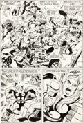 Original Comic Art:Panel Pages, Jack Kirby and Vince Colletta Thor #137 Page 4 Original Art(Marvel, 1967)....