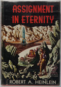 Books:Science Fiction & Fantasy, Robert A. Heinlein. Assignment In Eternity. Fantasy Press, 1953. First edition, first printing. A few small spot...