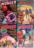 Pulps:Science Fiction, Thrilling Wonder Stories Box Lot (Standard, 1936-63) Condition:Average VG/FN.... (Total: 2 Box Lots)